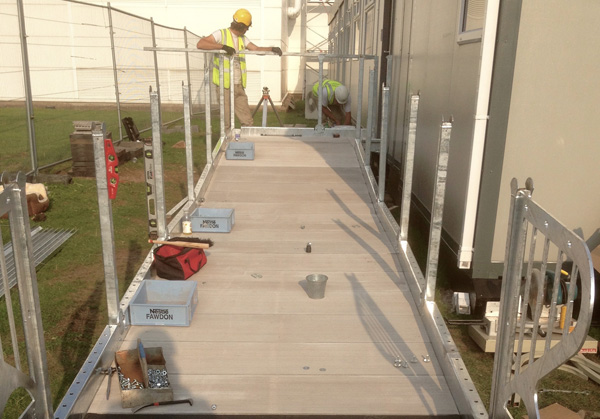 Steps and Ramps Fitting Service